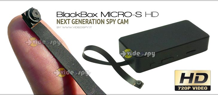 BBMicroS HD - Microcamera spia HD ultra-miniaturizzata