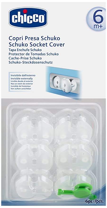 Buy Chicco Schuko Socket Cover Online at Low Prices in India