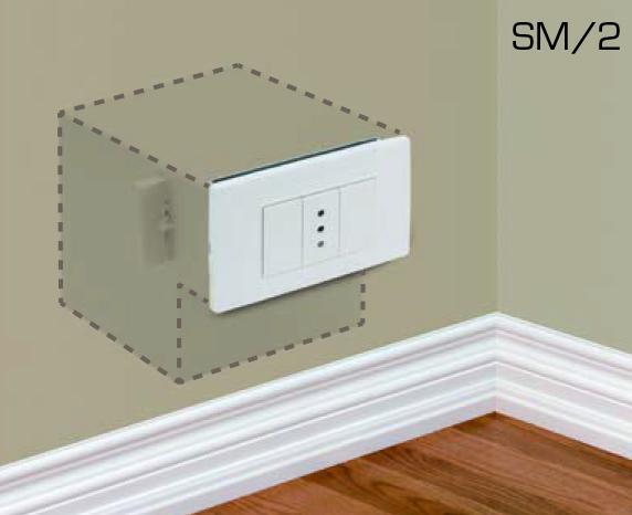 Cassaforte Invisibile Technomax SM/2 – Guerrieri Sicurezza
