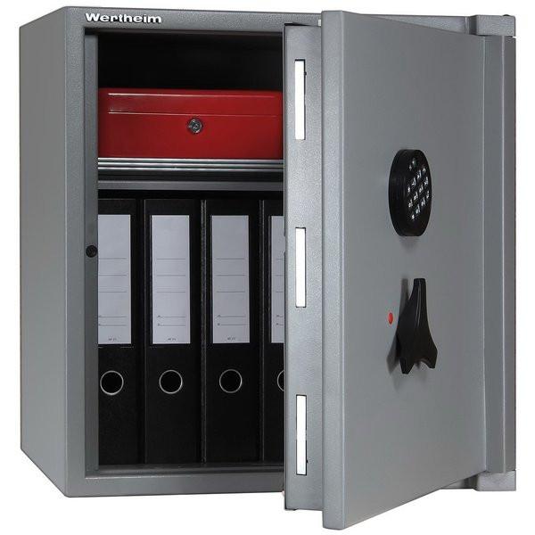 Cassaforte Wertheim grigio - RAL 7037 con chiave a doppia mappa
