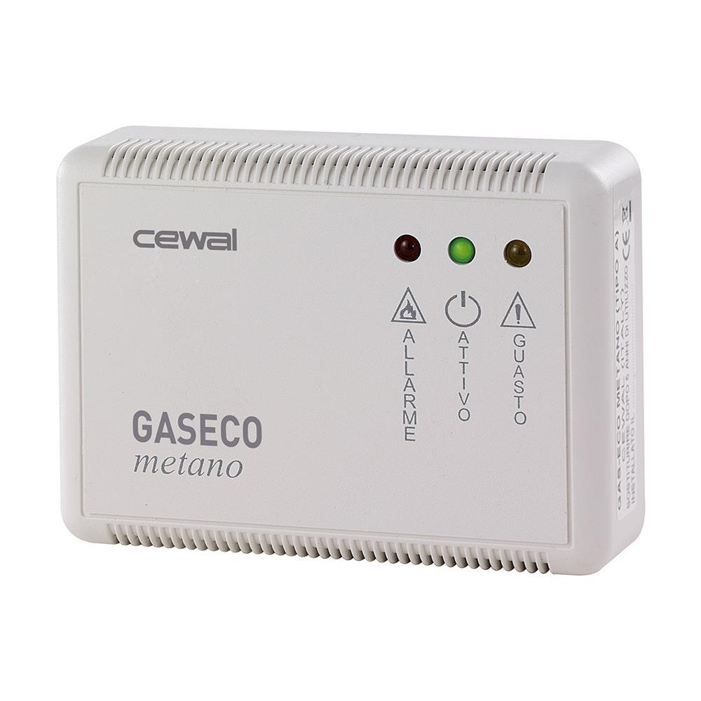 CEWAL - Rilevatore Di Fughe Di Gas Gpl Sensore Elettronico Gaseco