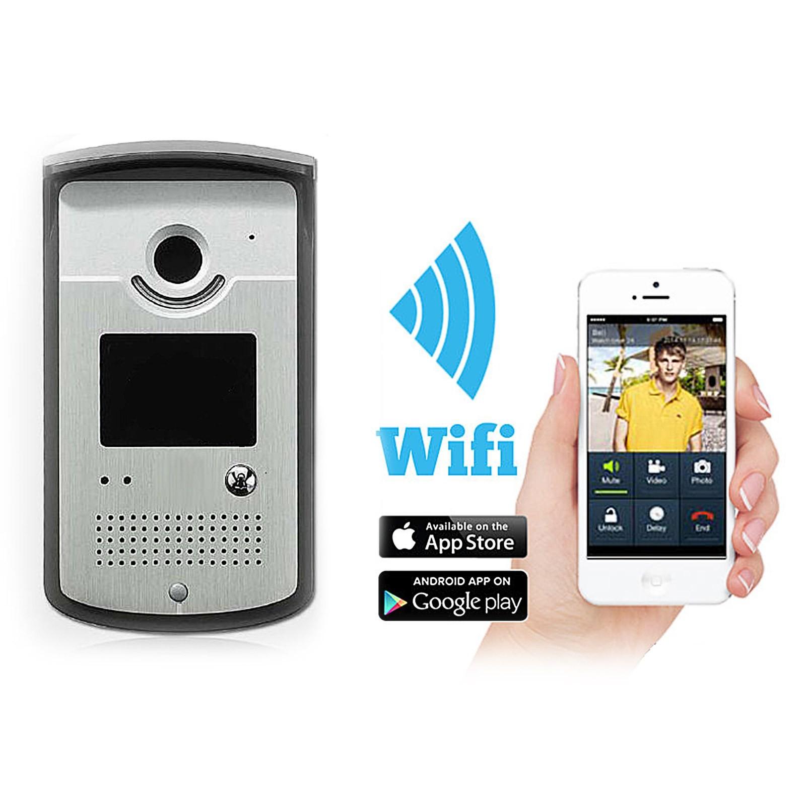 Citofono Videocitofono Senza Fili Wireless WIFI Chiamata Cellulare