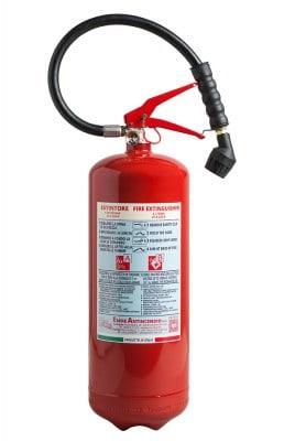 Estintore schiuma 6 L - Dispositivi antincendio - Coop Global Service