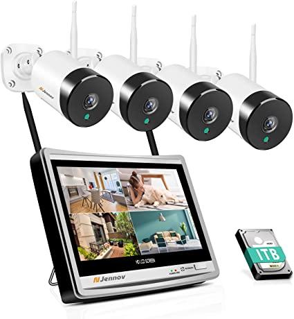 Jennov, sistema di telecamere di sicurezza domestica wireless