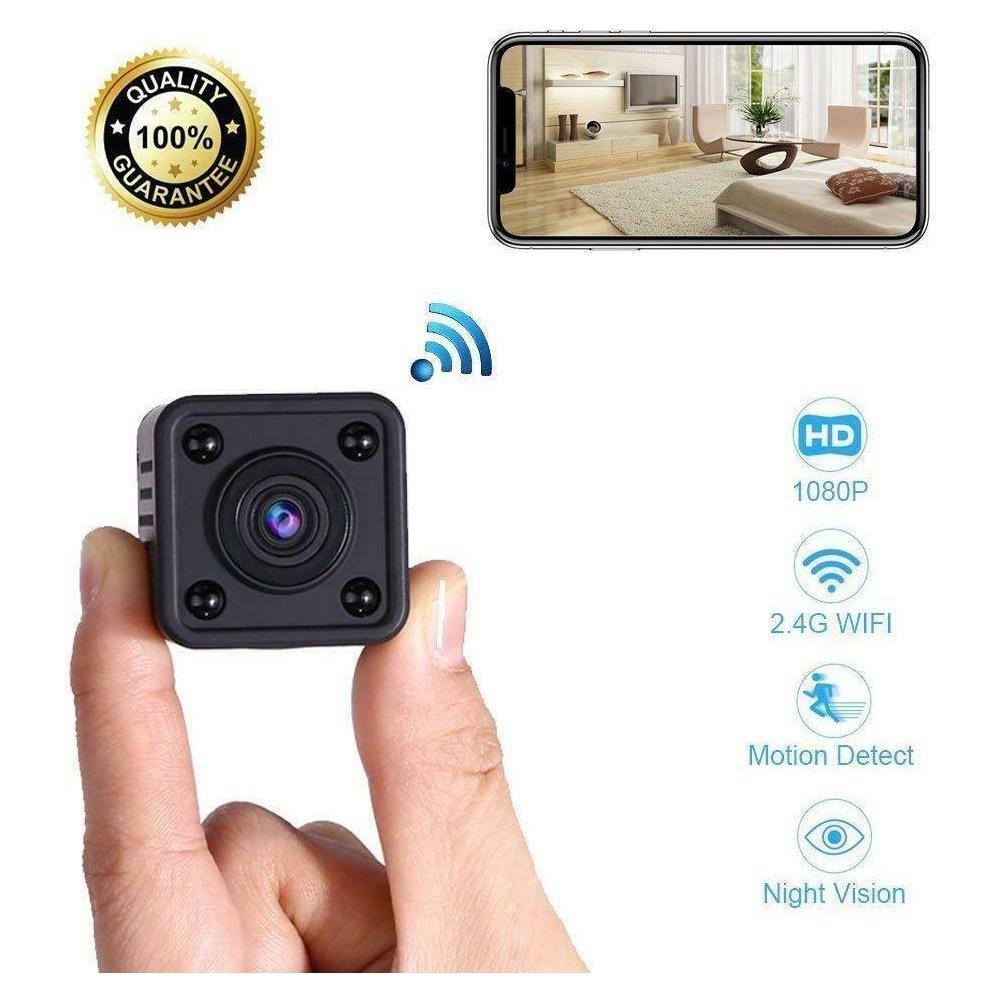 LEOVIN - Mini Telecamera Spia Wifi Micro Camera Ip Nascosta Spy