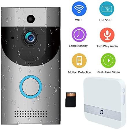 M-TOP Doorbell Camera, Videocitofono Senza Fili Wireless da