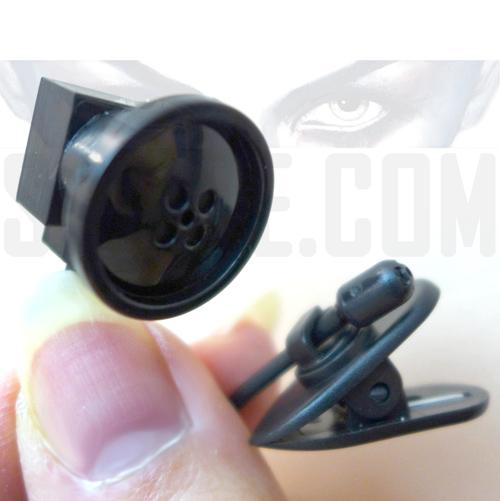 Micro Telecamera Spia Wifi Bottone - invia Testo a Cellulare