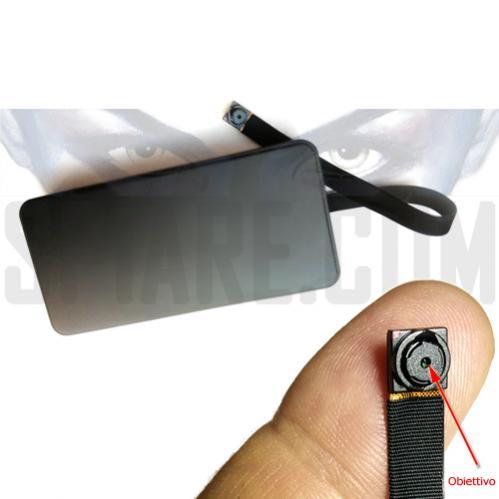 Microcamera spia HD professionale con batteria lunga durata