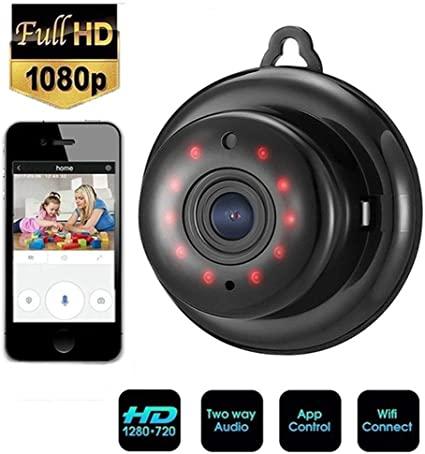 Microcamera Spia Nascosta Wifi,HD 720P con rete Wireless Wifi