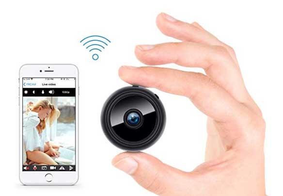 Microtelecamere wireless - spia per controllare a Distanza