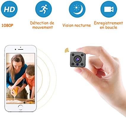 Mini telecamera spia WiFi a distanza, telecamera di sorveglianza