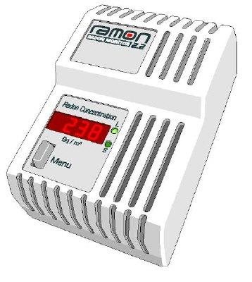 Misuratore di gas Radon RAMON 2.2