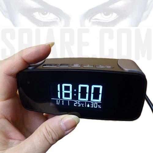 Orologio con Telecamera nascosta - Sveglia Spia Wifi Visione Notturna