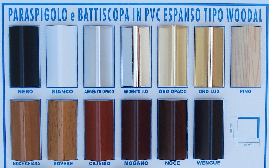 Paraspigoli Coprispigoli in PVC: Paraspigolo Coprispigolo in PVC