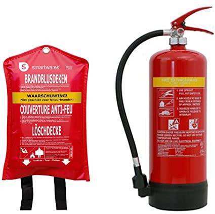 Pratico estintore / estintore 6L, classe di incendio A, F +