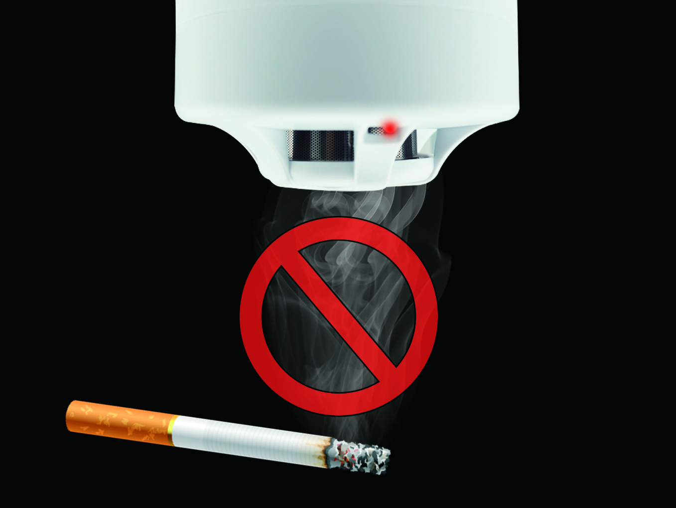 Rilevatore di fumo di sigaretta