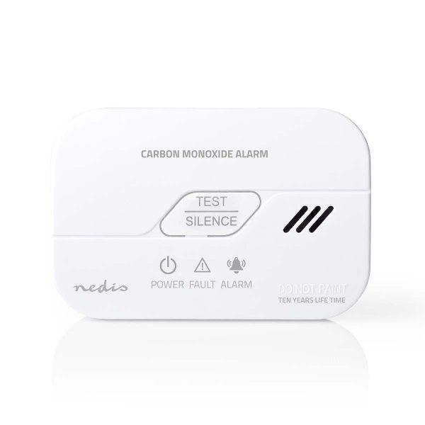 Rilevatore monossido di carbonio a batterie casa o camper aggancio