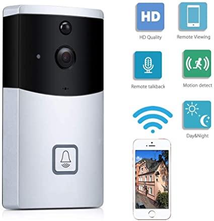 Telecamera di sicurezza per campanello intelligente wireless HD