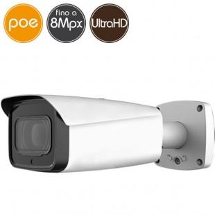 Telecamera IP PoE - 8 Megapixel Ultra HD 4K - motorizzata 2.7-12mm