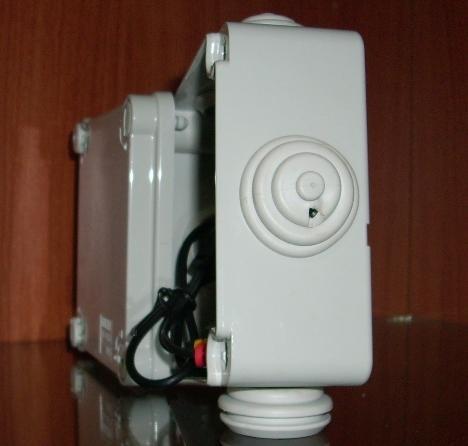 telecamera nascosta in scatola di derivazione per esterni