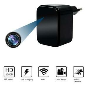 Telecamera Nascosta Spia WiFi Spy Cam Caricatore USB 1080P TANGMI