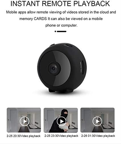 Telecamera Nascosta Spycam Videocamera Portatile Hd 1080P Mini