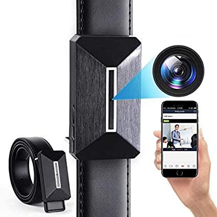 Telecamera spia, 1080P Mini Telecamera Nascosta WiFi Cintura