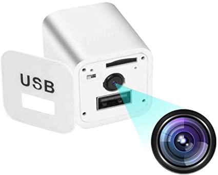 Telecamere spia Telecamera nascosta USB 1080P bianca, telecamera