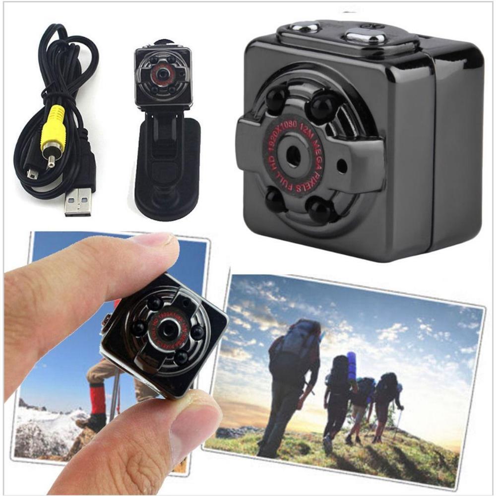 TrAdE shop Traesio® - Mini Video Camera Spia Telecamera Nascosta