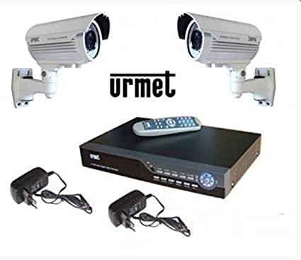 URMET DOMUS 1093/KND8 - KIT TELECAMERE: