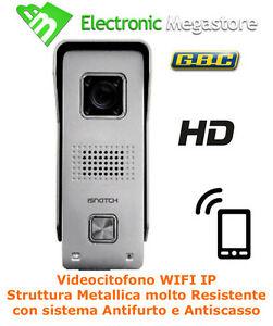 VIDEOCITOFONO IP WIFI CON APP SMARTPHONE - APRI VEDI E APRIPORTA