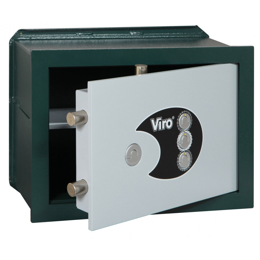 Viro Wall Safe Privacy Combination Mechanical 4324.20 Wall Receipt
