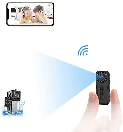 Wifi Micro Telecamera Nascosta Spia Subacquea,NIYPS 1080P
